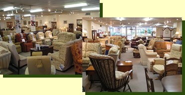 Parades Fine Furniture Staines Shop Inside Images